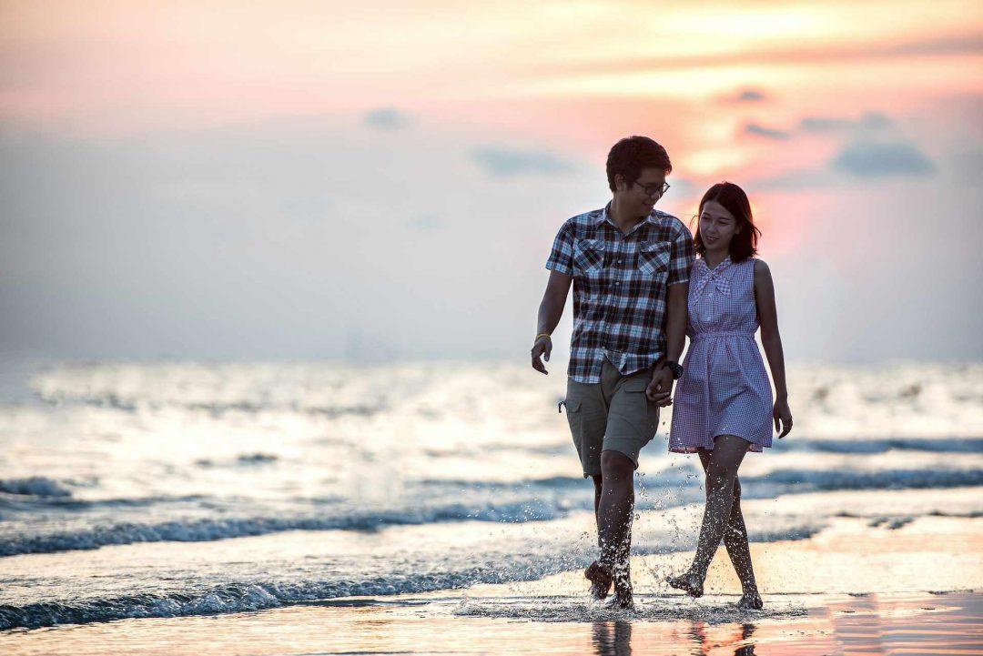 Romantic Couple Photos in Singapore through Instagram
