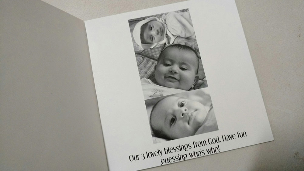 Photo book Ideas: Make a family-kids 'Guess Who' book