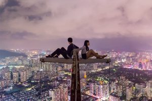 Where to take romantic pictures for Valentine's day-photojaanic-Sunset-skyline