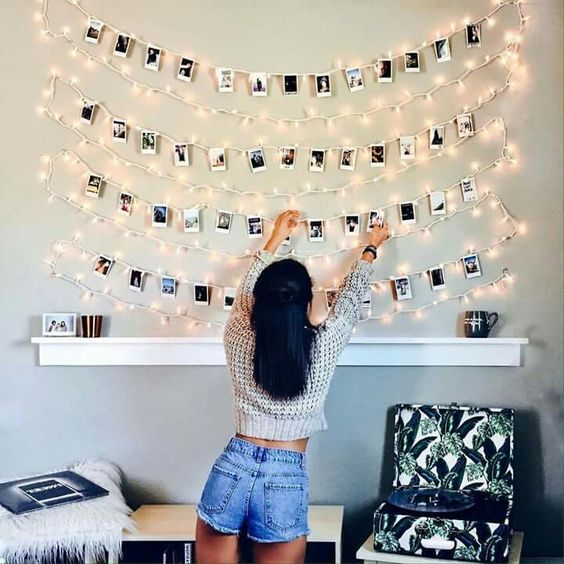 quick easy photo wall ideas - DIY gallery wall ideas (7)