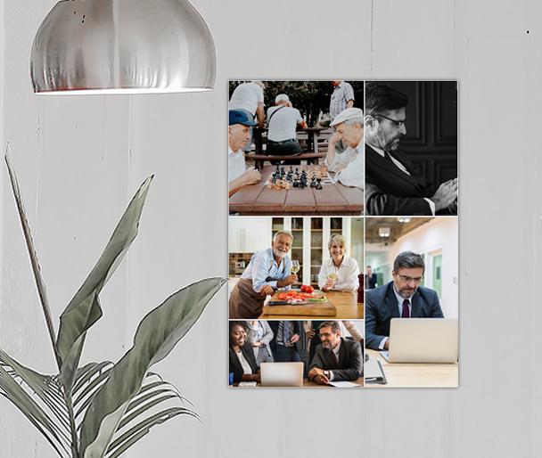 Corporate collage