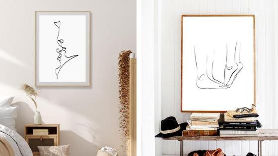 best & simple line art works