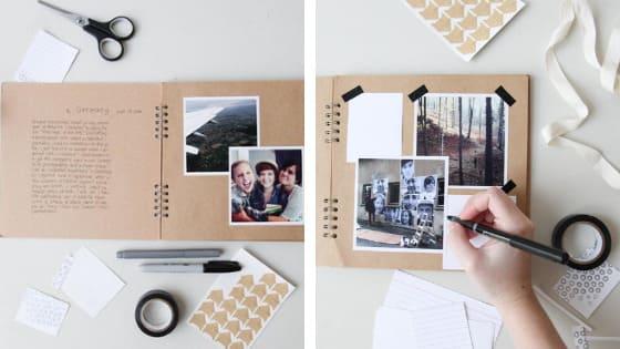 Mother's DIY Scrapbooking Ideas