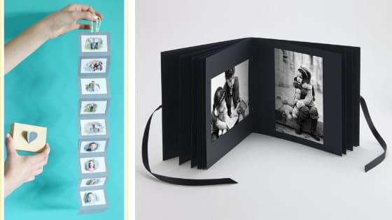 Pocket photo book memories