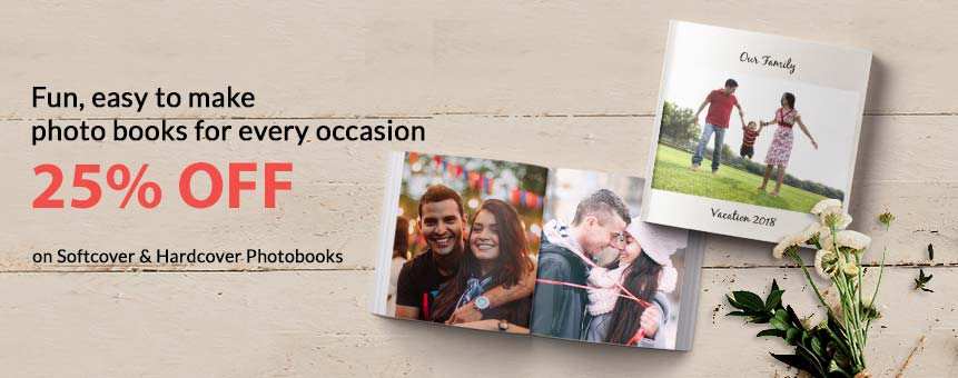 Customize your photobook