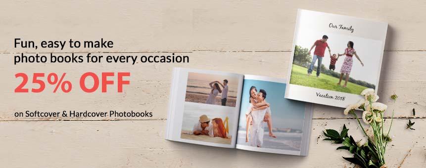 Customize your photobook
