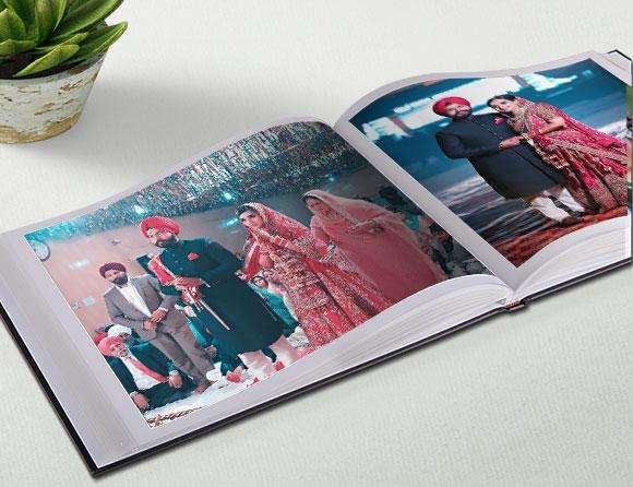online leather personalized photobooks