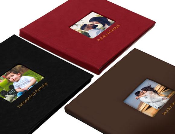 order premium leather albums online