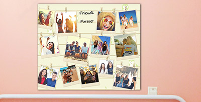Collage poster online