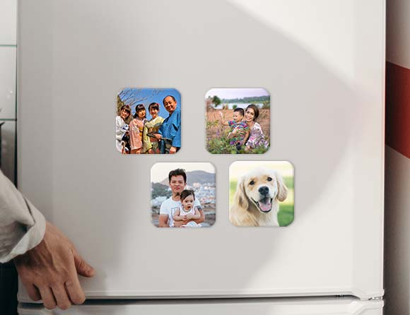 fast delivery photo magnets in Singapore