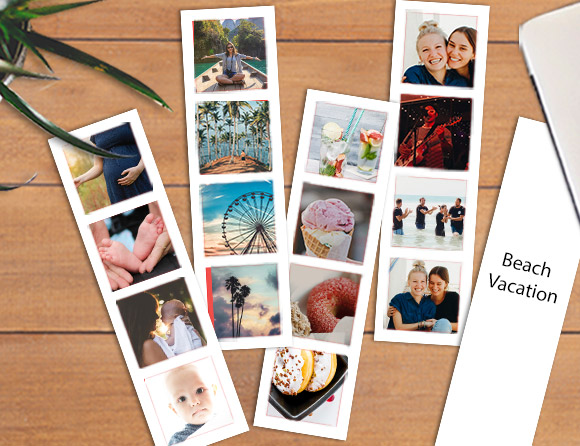 creative photo bookstrips