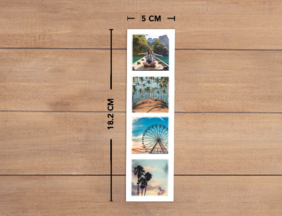 photo bookmarks for storing small memories
