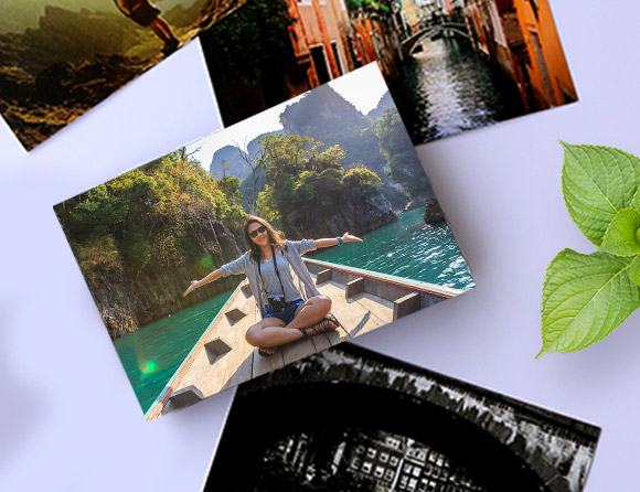 personalize post card prints