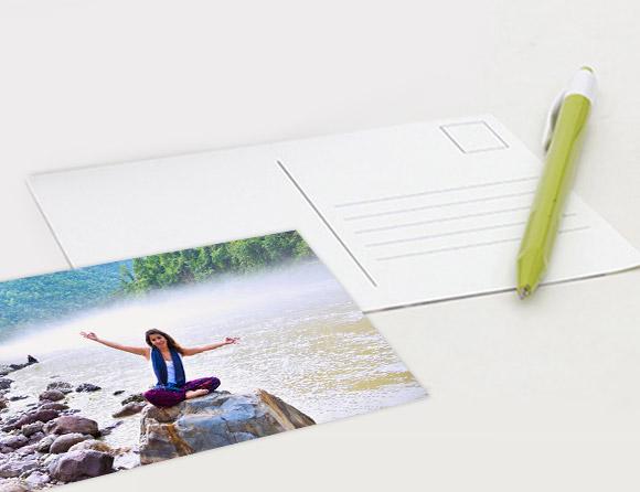 deliver post cards online