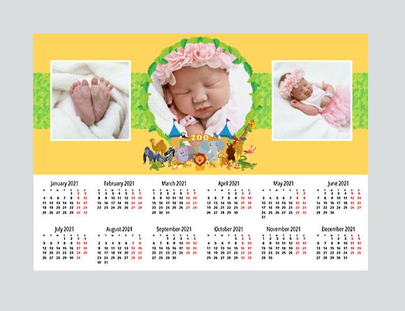 premium materials for poster calendars