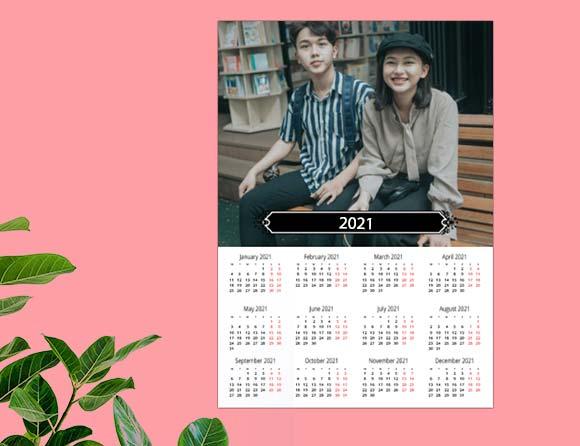 order to get best poster calendars