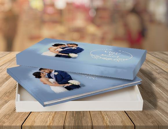 layflat premium photo album printing