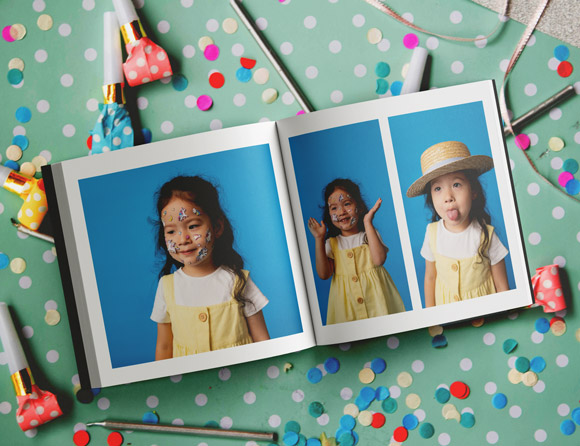 softcover photo albums