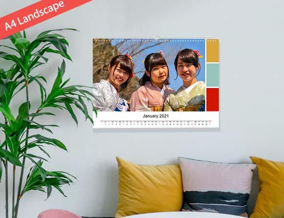 unique photo wall calendars