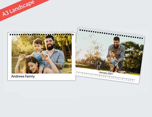 custom photo wall calendars