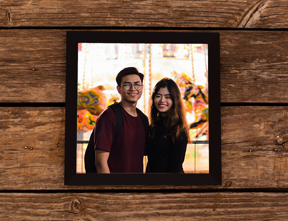 simple wall photo frames online