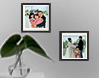 memories on wall photo frames